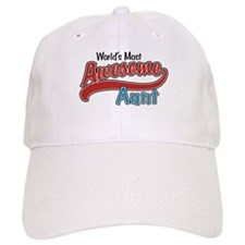 Most Awesome Aunt Baseball Cap