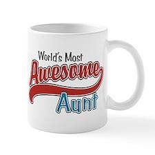 Most Awesome Aunt Mug