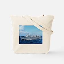 USS Supply Ship's Image Tote Bag