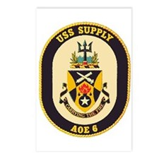 USS Supply AOE 6 Postcards (Package of 8)