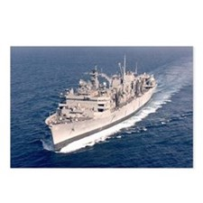 USS Supply Ship's Image Postcards (Package of 8)