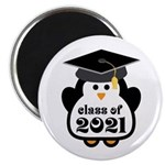 Penguin Class of 2021 Magnet