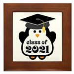 Penguin Class of 2021 Framed Tile