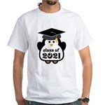 Penguin Class of 2021 White T-Shirt