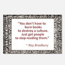 Bradbury on Books Postcards (Package of 8)