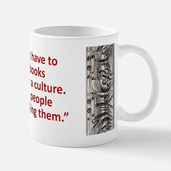 Bradbury on Books Mug