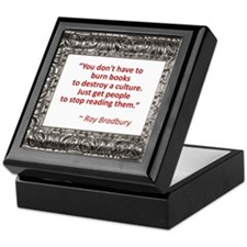 Bradbury on Books Keepsake Box