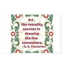 Art Like Morality Postcards (Package of 8)
