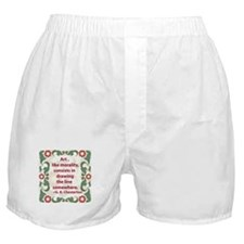 Art Like Morality Boxer Shorts