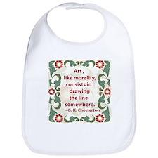 Art Like Morality Bib