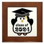 Penguin Class of 2024 Framed Tile