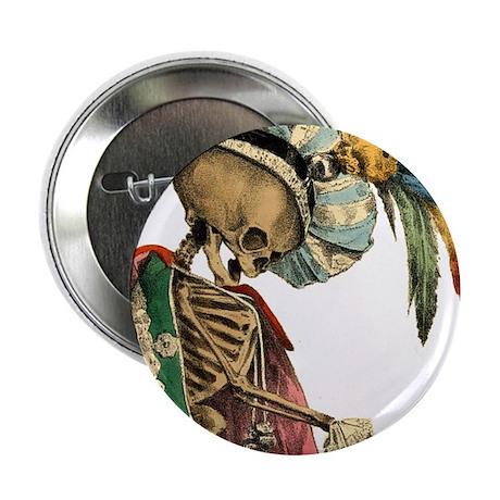 "Goth Skeleton 2.25"" Button (10 pack)"