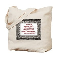 Book Collecting Tote Bag