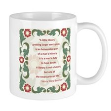 Man's Duty To Have Books Mug