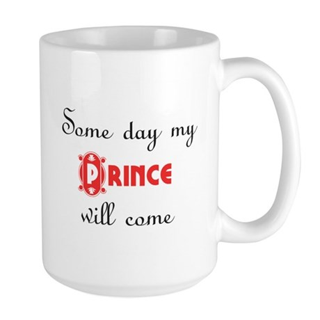 Snow White 'Some Day My Prince Will Come' Lge Mug