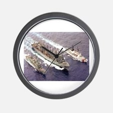 USS Rainier Ship's Image Wall Clock