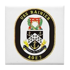 USS Rainier AOE 7 Tile Coaster