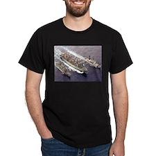 USS Rainier Ship's Image T-Shirt