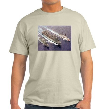 USS Rainier Ship's Image Light T-Shirt