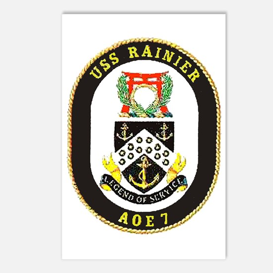USS Rainier AOE 7 Postcards (Package of 8)