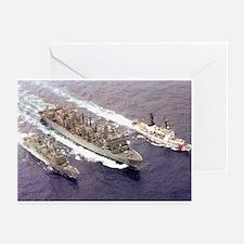 USS Rainier Ship's Image Greeting Cards (Pk of 10)