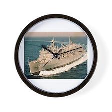 USS Arctic Ship's Image Wall Clock