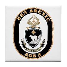 USS Arctic AOE 8 Tile Coaster