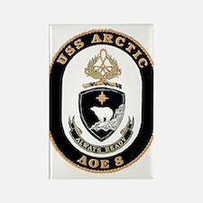 USS Arctic AOE 8 Rectangle Magnet