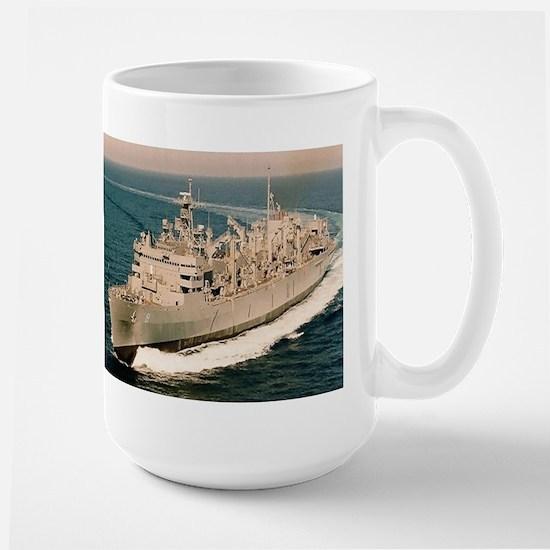 USS Arctic Ship's Image Large Mug