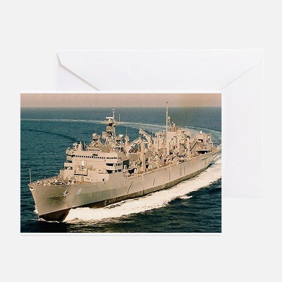 USS Arctic Ship's Image Greeting Cards (Pk of 10)