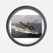 USS Bridge Ship's Image Wall Clock