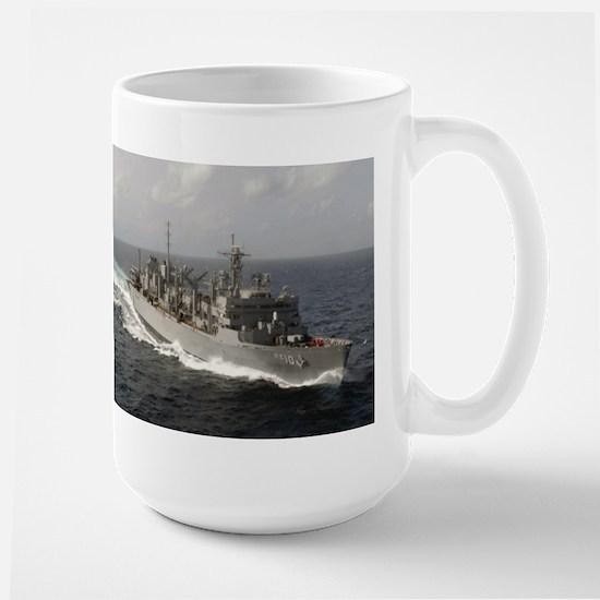 USS Bridge Ship's Image Large Mug