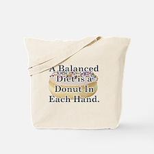 Balanced Donut Tote Bag