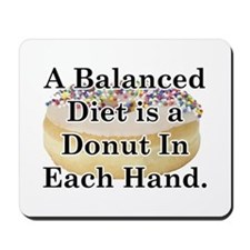 Balanced Donut Mousepad