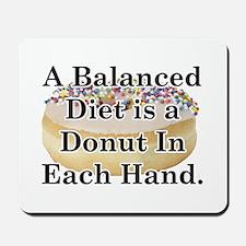 Balanced Donut Mousepad