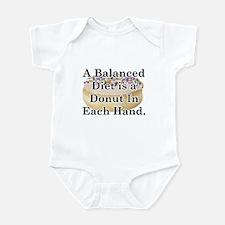Balanced Donut Infant Bodysuit