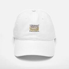 Balanced Donut Baseball Baseball Cap