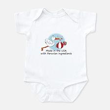 Stork Baby Peru USA Onesie