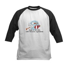 Stork Baby Peru USA Tee
