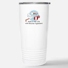 Stork Baby Peru USA Stainless Steel Travel Mug