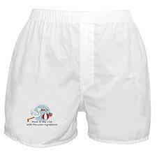 Stork Baby Peru USA Boxer Shorts