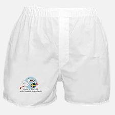Stork Baby Sweden USA Boxer Shorts