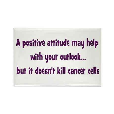 Positive Attitude... Rectangle Magnet