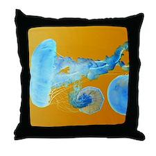 Jellyfish as Art Throw Pillow