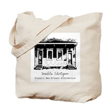 New Orleans Double Shotgun Tote Bag