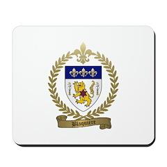 BLAQUIERE Family Crest Mousepad