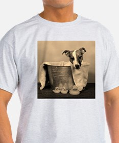 Old Fashioned JRT in Tub Ash Grey T-Shirt