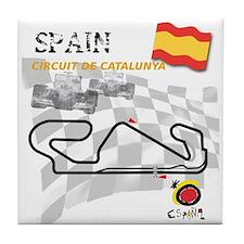 Spanish Grand Prix Tile Coaster
