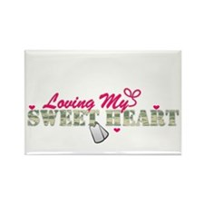 Sweet Heart Rectangle Magnet