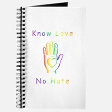 Know Love, No Hate Journal